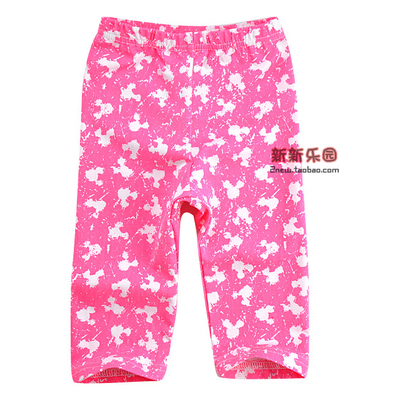 Summer children's clothing new girls baby summer girls thin section leggings pants pants pants