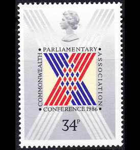 New British stamps 1986 Commonwealth Parliamentary Emblems Stamps Philatelic Collection Foreign Stamps