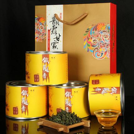 福建特产安溪浓香型铁观音茶叶高山乌龙茶72g