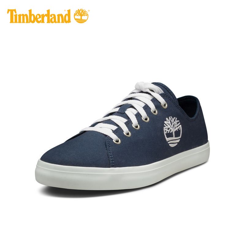 fe5bc565846 Timberland/Timberland men's shoes comfortable breathable embroidery LOGO  canvas shoes | A1Q6A