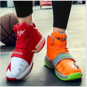 2018 new giày bóng rổ nam cao khởi động mùa hè sinh viên thể thao nam giày thoáng khí 鸳鸯 thanh niên màu xanh sneakers