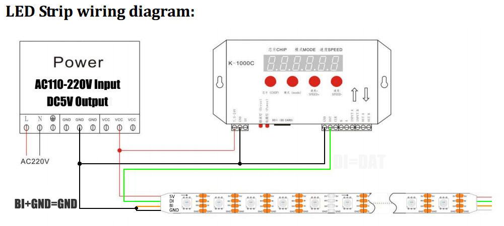 New 12v Ws2815 Individual Addressable Digital Led Strips