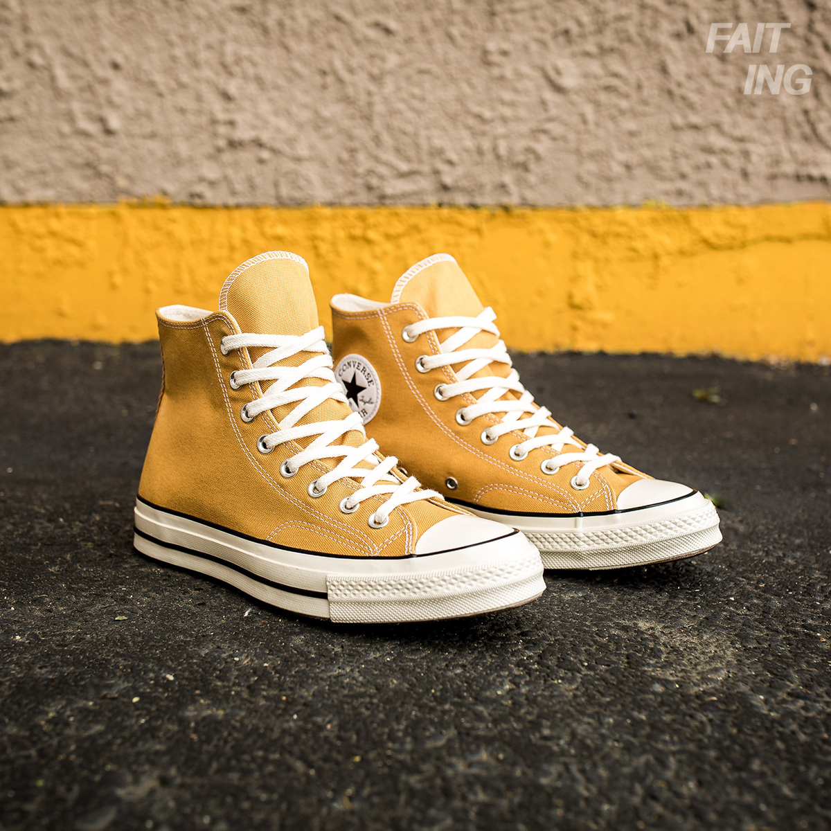 b779716dbf3a Converse 1970s yellow high and low classic men and women canvas shoes  Samsung standard 162054C