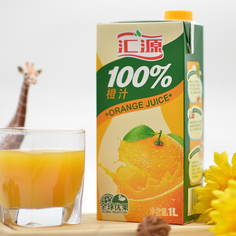清仓低价,1Lx6盒x2箱 汇源 橙汁100% 橙汁饮料 券后83.4元包邮 买手党-买手聚集的地方