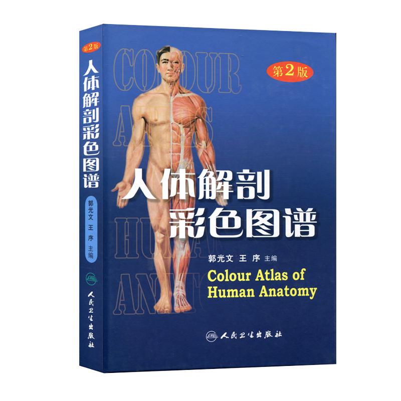 Human Guardian Genuine Human Anatomy Color Atlas 2nd Edition Full