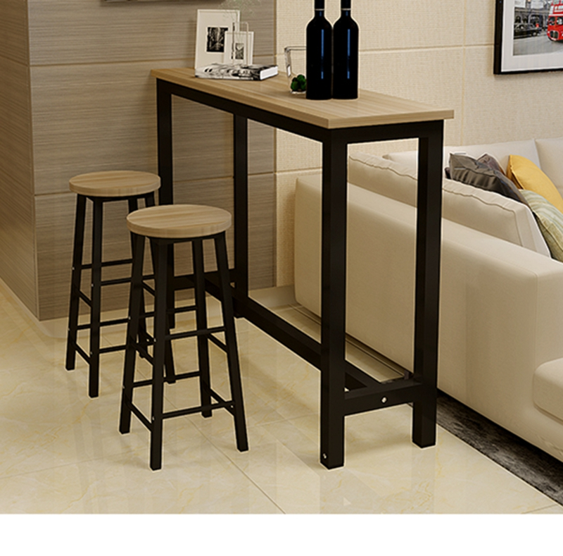 Simple Bar Table Home Wall Bar Small Bar Living Room Partition Porch Table  Narrow Table Long Bar High Table And Chair