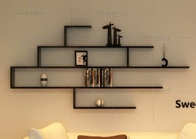 Wall shelf rack Metal Creative Tv Cabinet Wall Hanging Background Wall Decoration Partition Wall Shelf Rack Shelf Shelf Wall Hanging Wall Frame Ebuy7 Creative Tv Cabinet Wall Hanging Background Wall Decoration