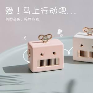 8thdays 机器人蓝牙音箱迷你小巧可爱无线手机便携式创意礼品音响