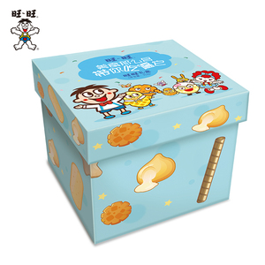 旺旺零食大礼包零食箱生日散装一箱组合膨化食品礼盒混合装912g*