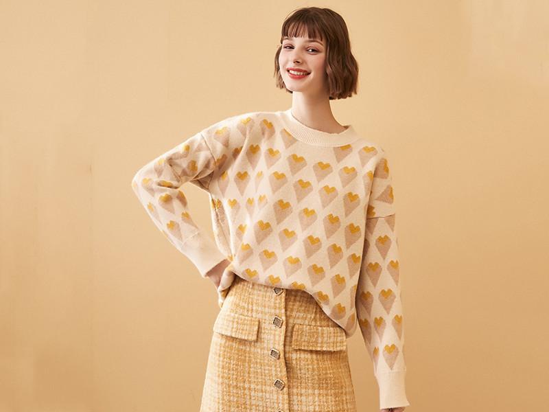 今年流行印花毛衣,还不快来入一款?