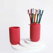 成人便携式牙刷12支装+2个漱口杯