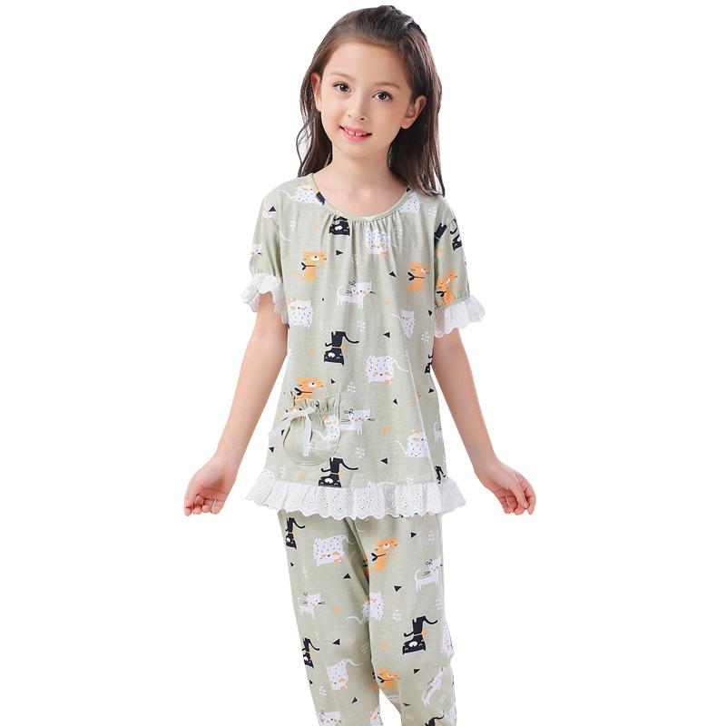 夏季空调服亲子宝宝家居服母女套装-券后45.00元