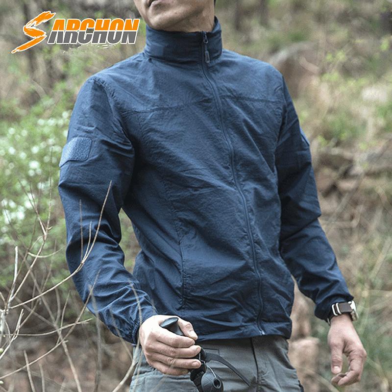 夏季户外防晒衣男女超薄透气防紫外线速干皮肤风衣运动外套登山服