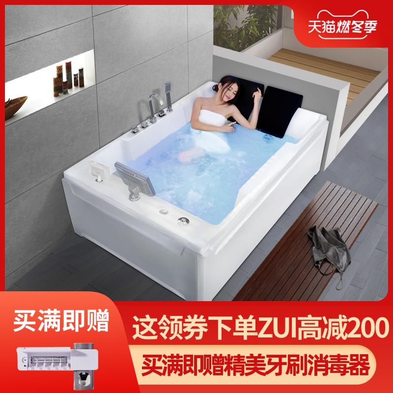 Ванна домой двойной восторг массаж ванна негабаритный любители ванна умный термостатический отопление для взрослых прибой ванна бассейн