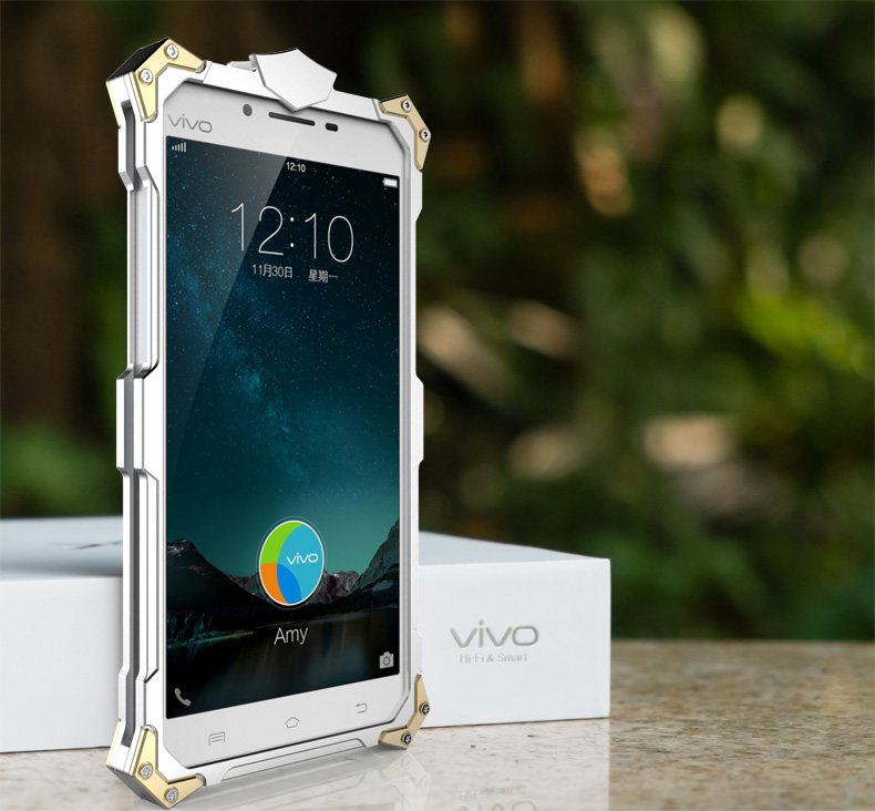 SIMON THOR Aviation Aluminum Alloy Shockproof Armor Metal Case Cover for vivo Y55