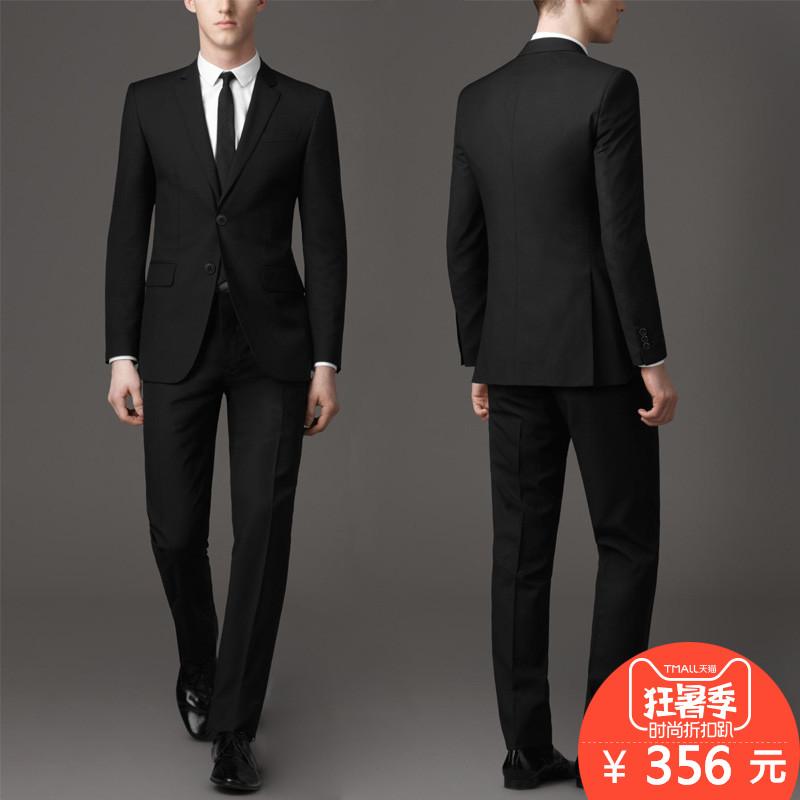 Phù hợp với phù hợp với nam giới ba mảnh kinh doanh tự trồng chuyên nghiệp phù hợp với phù hợp với phù rể phù hợp với chú rể Hàn Quốc áo cưới