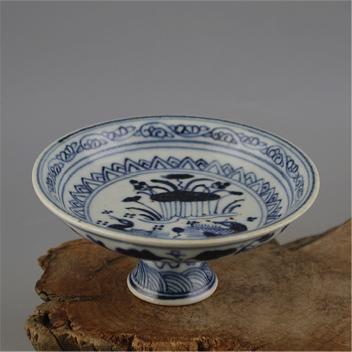 Ming Dynasty Qinghua Hand Painted Water