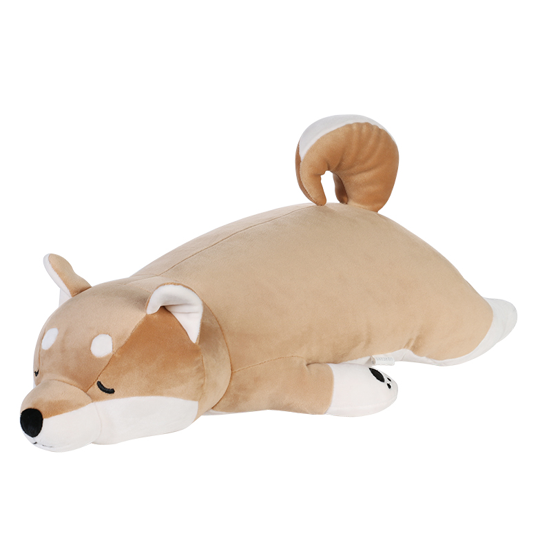 LIVHEART柴犬公仔毛绒玩具狗玩偶娃娃可爱睡觉暖手抱枕圣诞礼物女-给呗网
