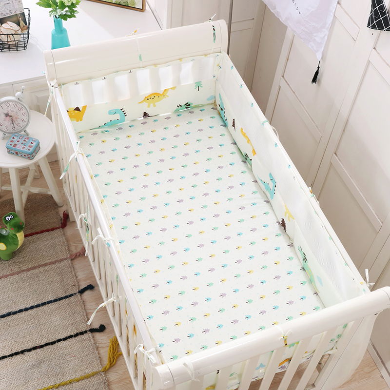 Baby Bedding Baby Bedding Cotton Crib Baby Bed Surrounding Childrens Bed Anti-collision Bed Kit Can Be Customized Good Heat Preservation Bedding Sets