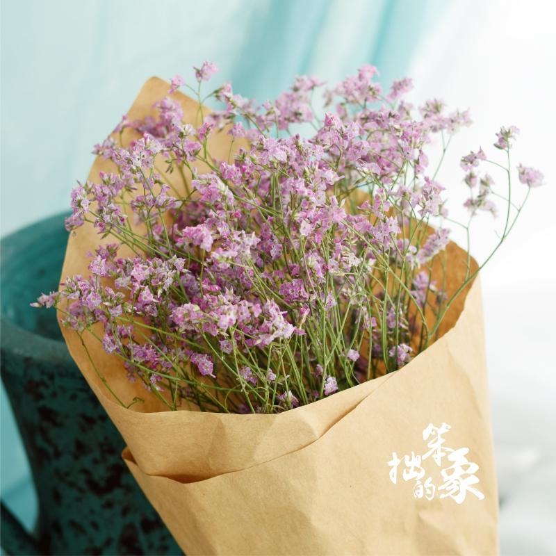 USD 8.02] Yunnan crystal grass dry flower bouquet real flower ...