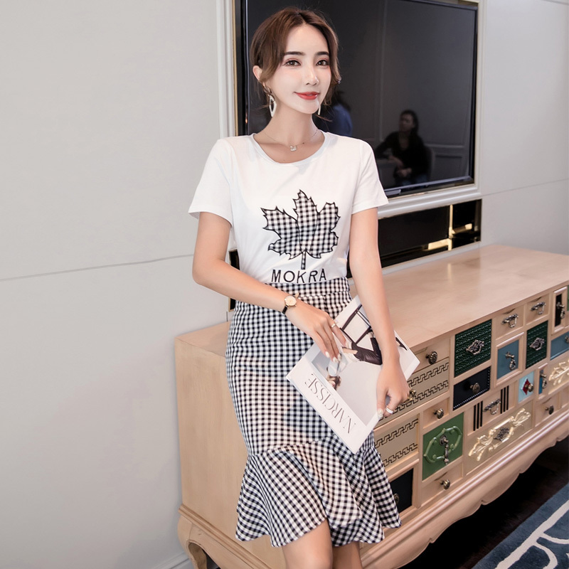 165b6c1ccd8 Real Shot Make 2018 summer wear, new ins super fire slim slim two ladies  fashion suit with video