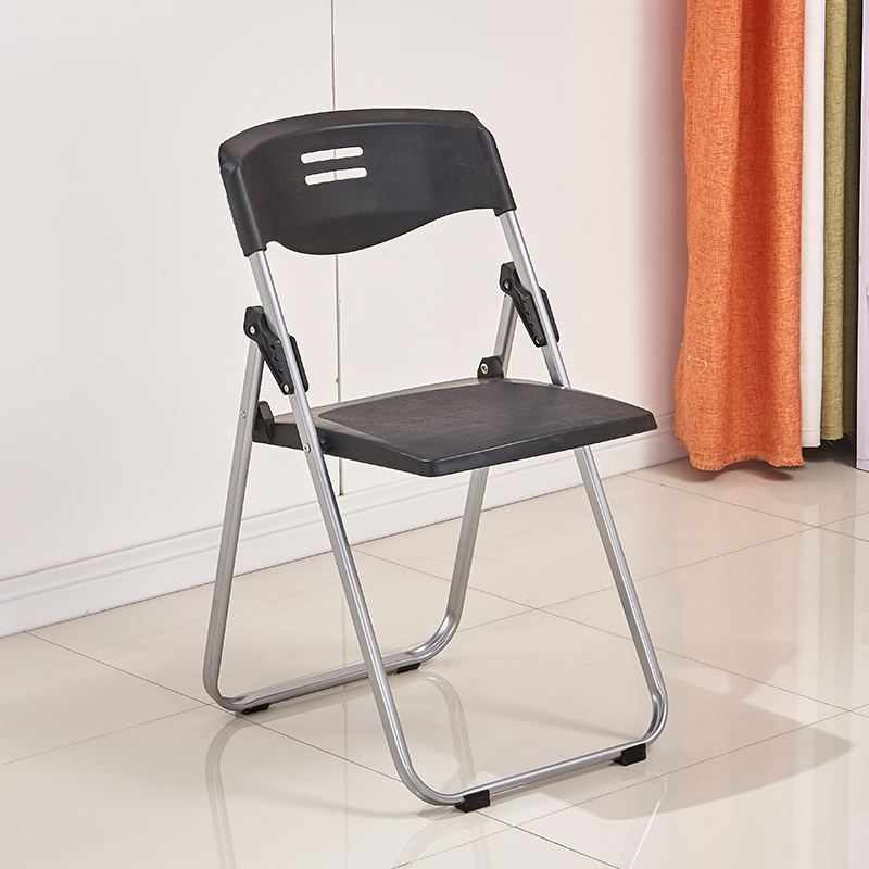Folding chair portable stool back chair training chair conference plastic chair fashion creativity dormitory student computer chair