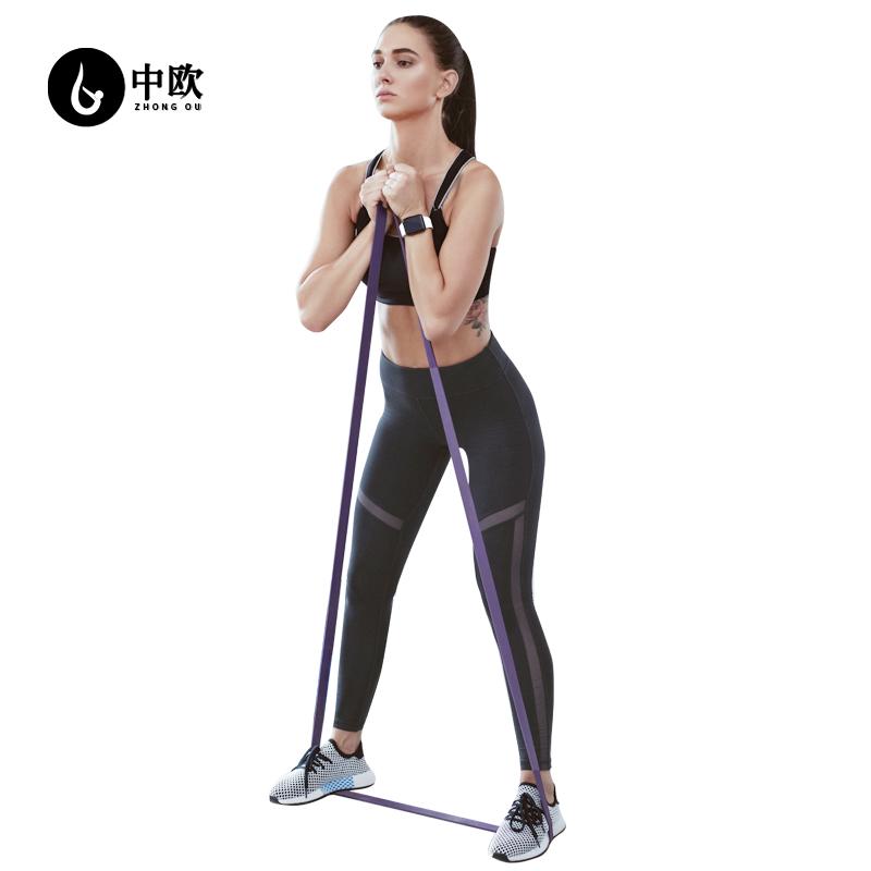 中欧阻力带健身弹力带男女引体上线辅助带力量训练拉伸拉力弹力绳
