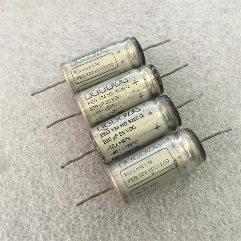拆机 瑞典RIFA PEG124 220uf25v 220uf64v 发烧胆机阴极电解电容
