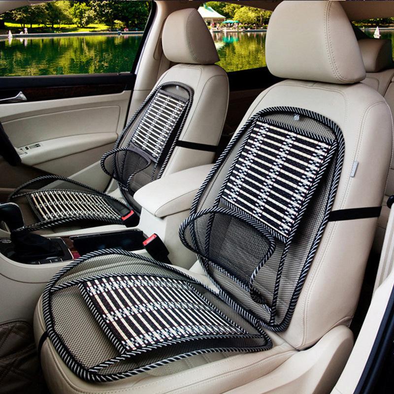 夏季椅垫凉席腰靠吸汗透气坐垫夏天单片座垫车用通风汽车车用凉垫