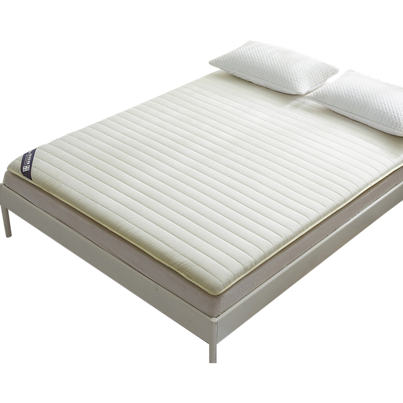 All cotton solid color 1,5/1, 8 double bed tatami plus thick mattress 0, 9/1, 2 bed student dormitory floor mat