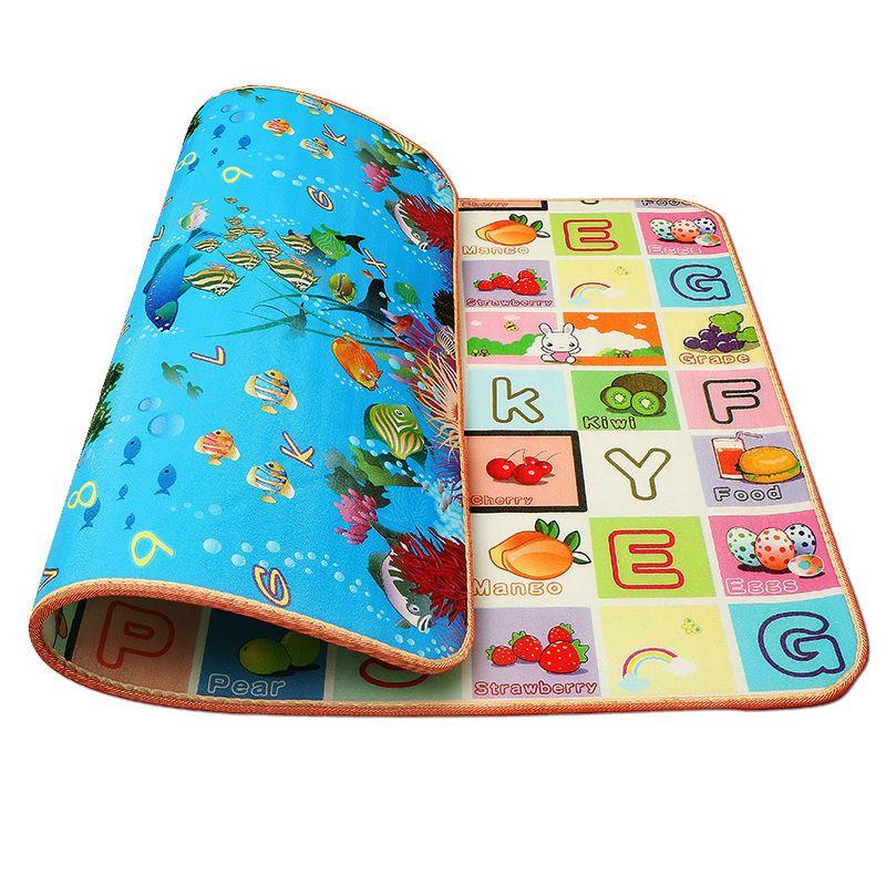 满10元可用3元优惠券爬爬垫加厚婴儿家用客厅宝宝爬行垫整张幼儿学步泡沫垫子防潮地垫