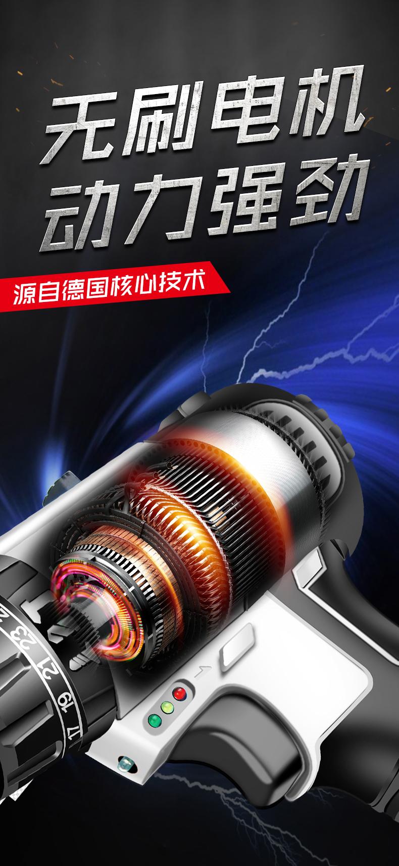 台灣現貨 免運 快速出貨【送配件+收納箱】36VF鋰電鑽 充電電鑽 電動起子機 衝擊起子 雙速衝擊鑽 衝擊電鑽 電動工具