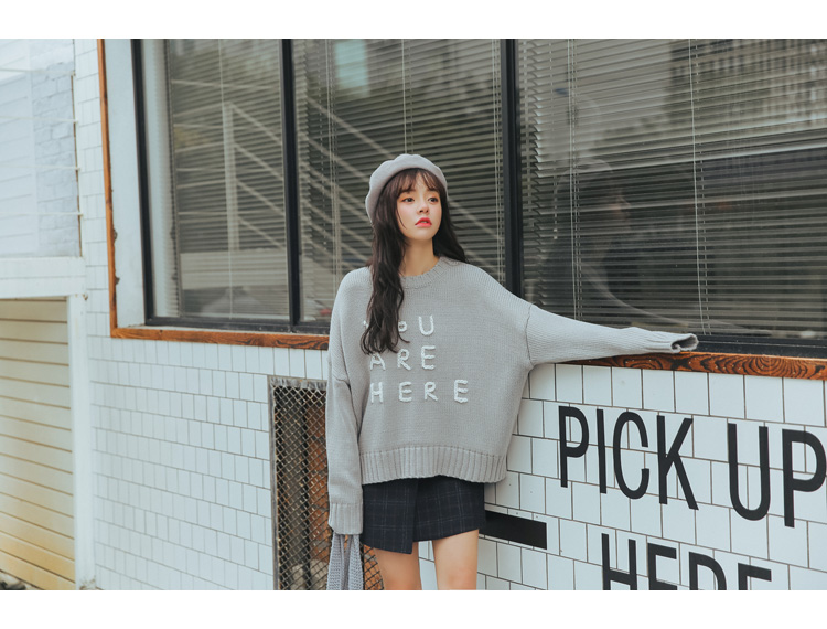 19 Women'S Ulzzang Autumn And Winter Harajuku Thickened Woolen Plaid Retro Skirt Female Cute Japanese Kawaii Skirts For Women 35