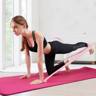 弹力带健身女力量训练男拉力带运动伸展翘臀深蹲初学者瑜伽阻力圈