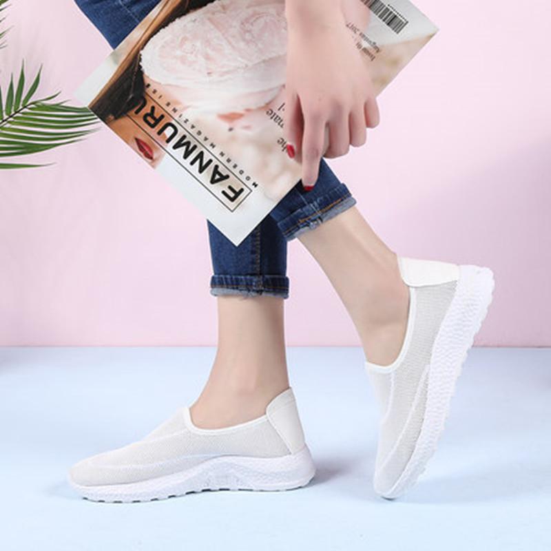 【亿魅佳】透气网面平底运动鞋