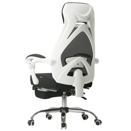 评价感受一下黑白调的椅子怎么样呀,参考入手感受黑白调电脑椅安全吗?