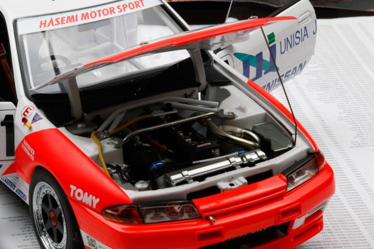 汽車館や車模收藏 1:18汽車模型特價奧拓AUTOART 1/18尼桑NISSAN R32 GT-R 1# 1993 合金汽車模型