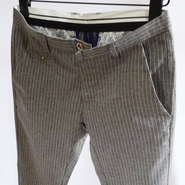 Mùa hè nam mỏng Slim thời trang thanh niên quần sọc hoang dã Quần short Hàn Quốc năm điểm quần thủy triều nam có thể được kết hợp - Quần short