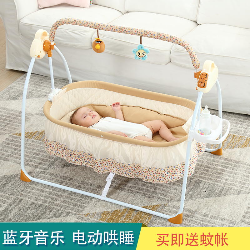 Swell Coax Baby Artifact Baby Rocking Chair Electric Cradle Bed Andrewgaddart Wooden Chair Designs For Living Room Andrewgaddartcom