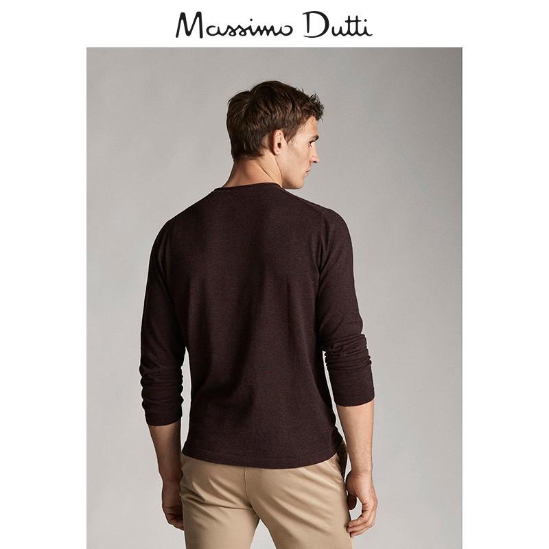 小恋西班牙代购MD男装素色棉质/丝质/山羊绒针织衫0093230755
