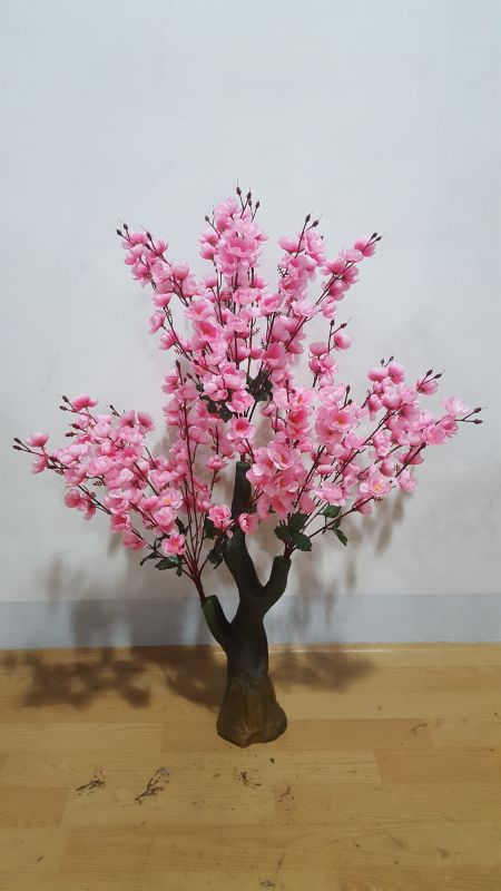 Large simulation peach tree fake tree living room shopping mall ...