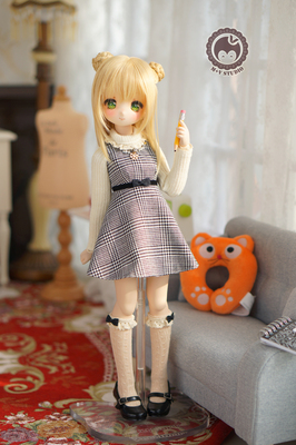 taobao agent 【Meow House】Autumn and winter temperament little lady daily 4 points MDD suit 1/4BJD cute cute spot