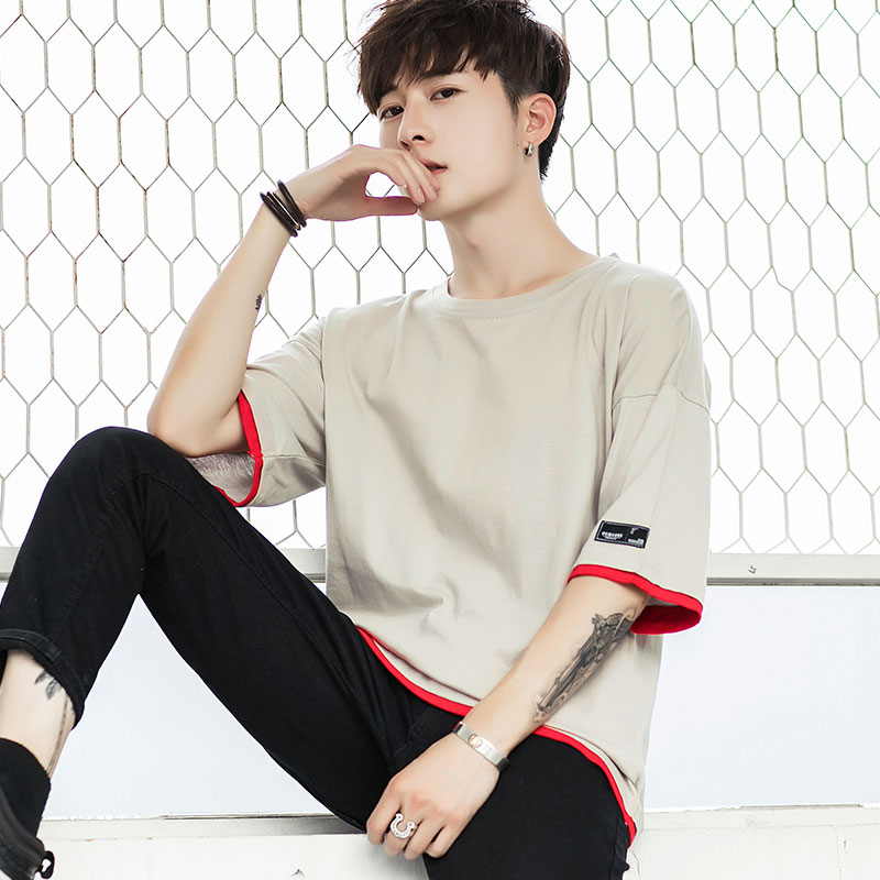 Usd 45 10 Short Sleeved Men S T Shirt Summer New Loose Korean