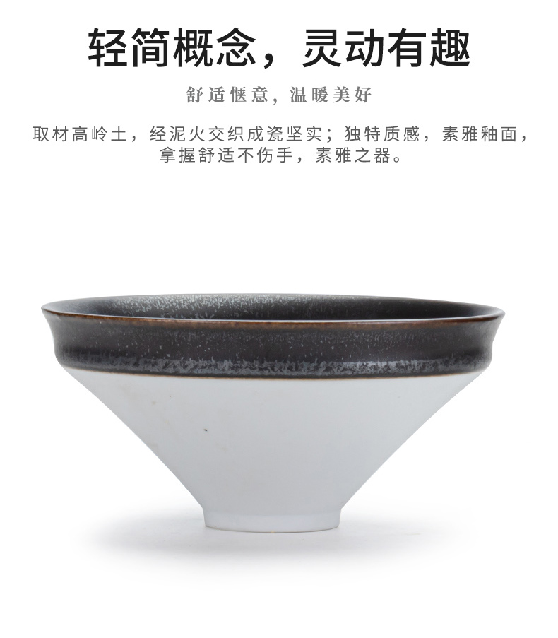 Japanese ceramics compote candy bowl snack dish hat to bowl dessert home stay hotel pendulum pastry salad bowl