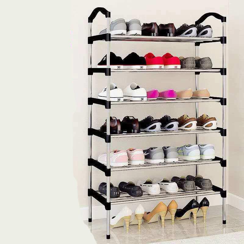 简易鞋架多层大学生寝室经济型省空间牢固塑料架家用组装收纳