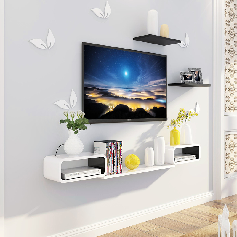 Usd 55 71 Tv Wall Set Top Box Shelf Rack Wall Hanging Wall Wall