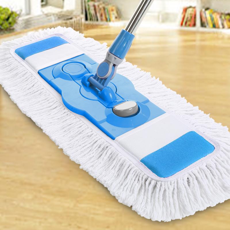 平板大拖把家用懒人瓷砖地木地板扦把专大号拖布夹一拖净干湿两用