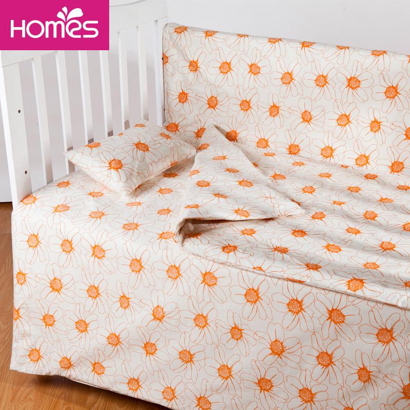红富士家纺生态家纺防螨墙六件套婴幼儿被套枕套用可水洗可定制