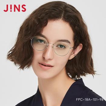 Компьютерные очки,  JINS глаз поза мужской и женщины анти - синий излучение ежедневно компьютер очки металл круглая коробка очки FPC18A101, цена 5746 руб