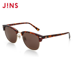 JINS睛姿太阳镜MOUSSY合作款金属复古墨镜防紫外线UMF17S919